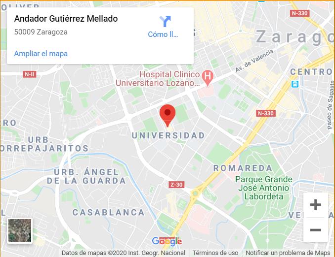 Localización 1 de La Escuela de Música Zaragoza Damvibes