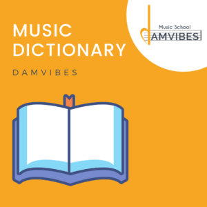 Music terms dictionary
