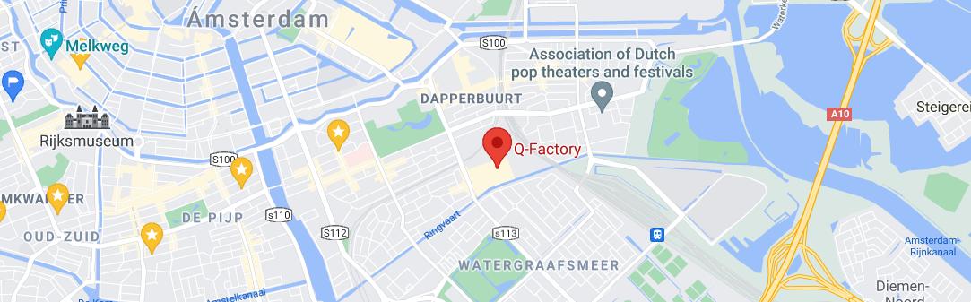 Amsterdam Music School Damvibes location