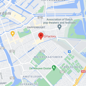 Amsterdam music school damvibes location mobile