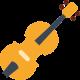 Dibujo de un violin