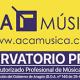 Logotipo de la escuela de música acamusica