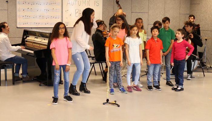 Foto de las clases grupales de la Escuela de Música Zaragoza Damvibes