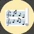Icono de solfeo para las clases de canto